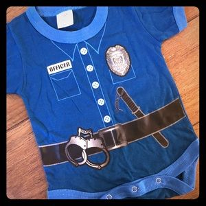 Other - Police officer baby onesie